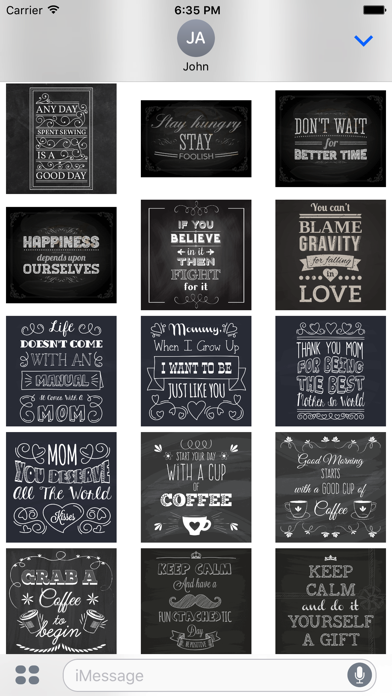 Chalkboard Quotes - Positive & Inspiration & Love screenshot 5