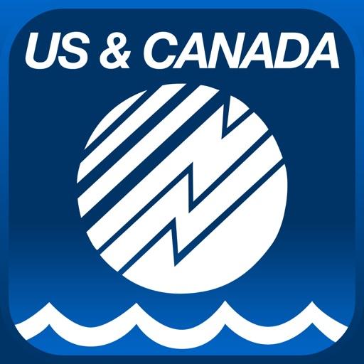 Boating US&Canada app logo