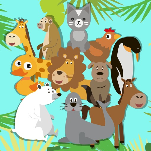 Kids Puzzle: Funny Animals