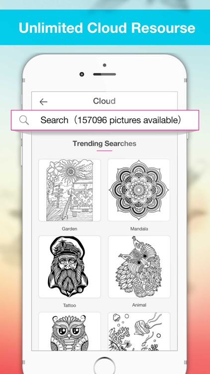 Colory: Coloring Book Adults screenshot-3