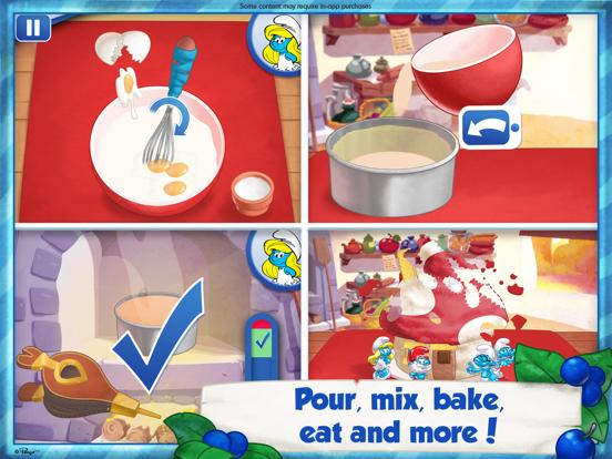 The Smurfs Bakery iPad app afbeelding 2