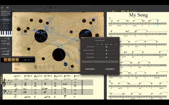 mDecks Music releases Mapping Tonal Harmony Pro 7.2.5 for macOS Image