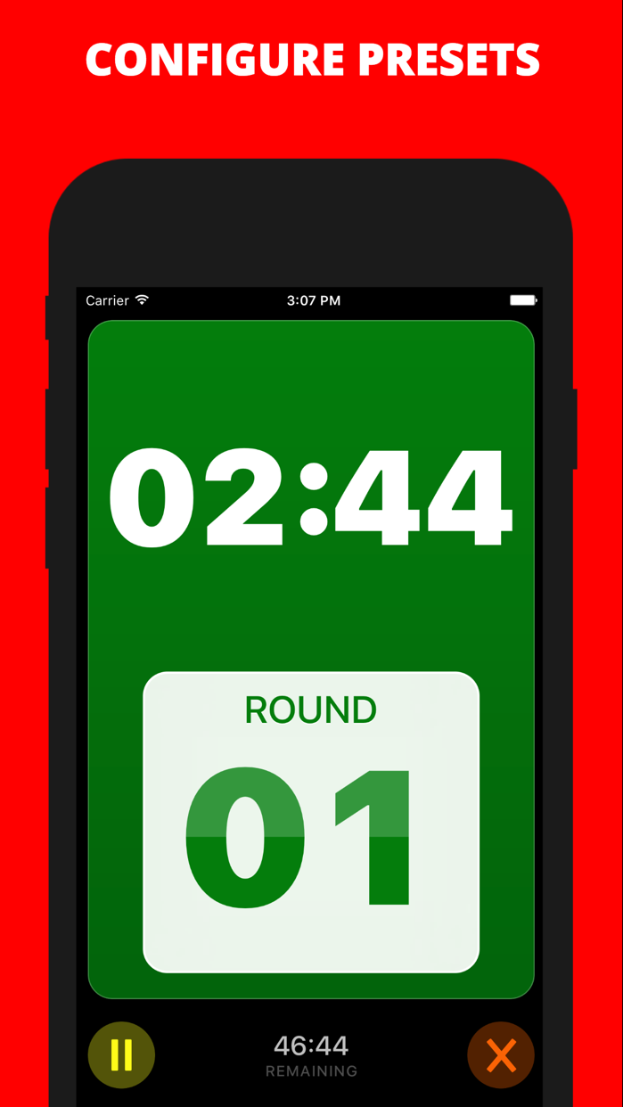 Boxing Timer Pro Screenshot