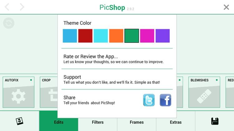 PicShop Lite - Photo Editor screenshot-3
