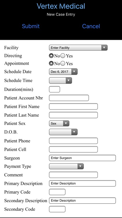 Vertex Medical Solutions screenshot-2