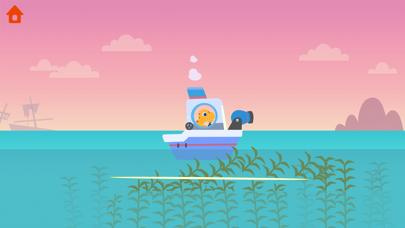 恐竜パトロールボート - 子供向けゲームのおすすめ画像5