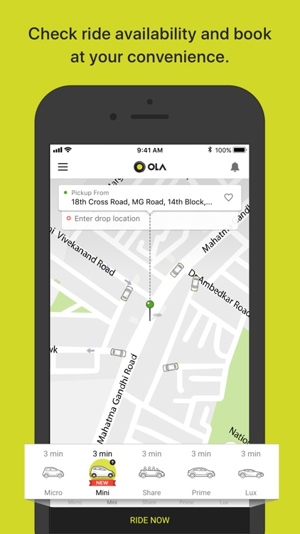 Ola Cabs - Book Taxi & Auto screenshot-0