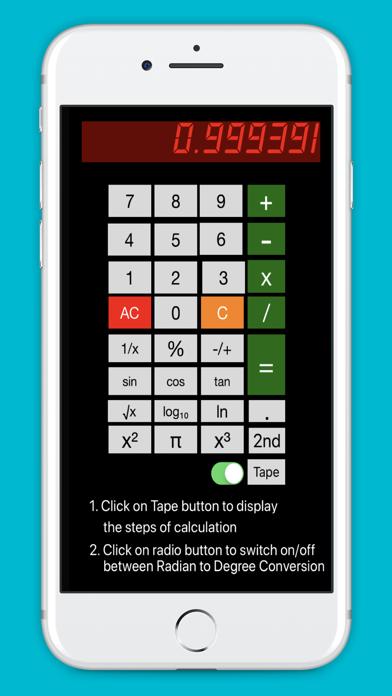 Free Scientific Calculator screenshot 2
