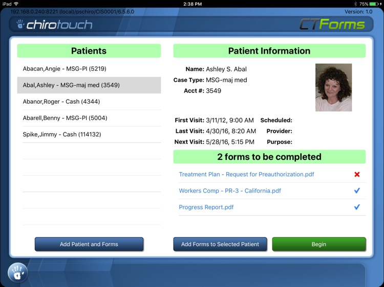 CT Forms Mobile 7.1 screenshot-1