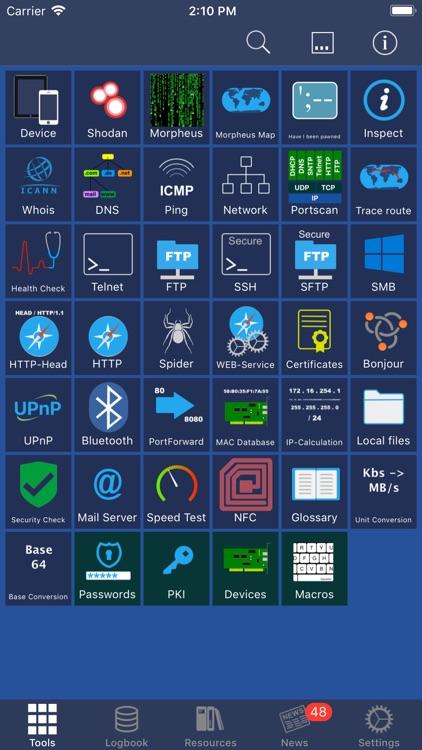 Network Toolbox - Net security screenshot-0