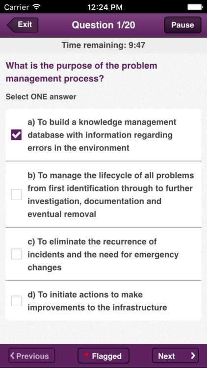 Official ITIL® Exam App