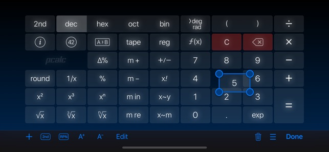 PCalc Capture d'écran