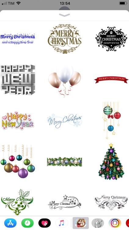 Christmas and Happy New Year screenshot-3