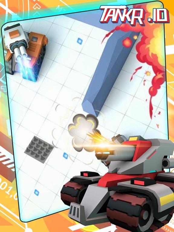 Tankr.io-Tankr Realtime Battle на iPad