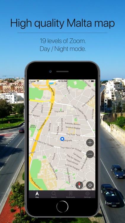 Malta Offline Navigation