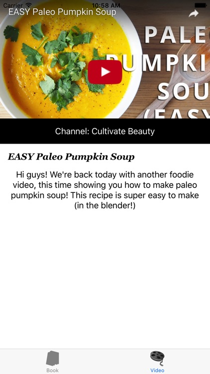 Paleo Soup Recipes screenshot-3