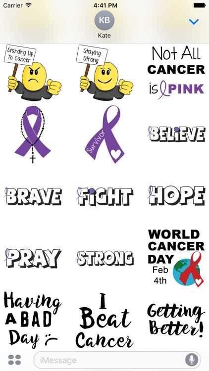 Pancreatic Cancer Stickers