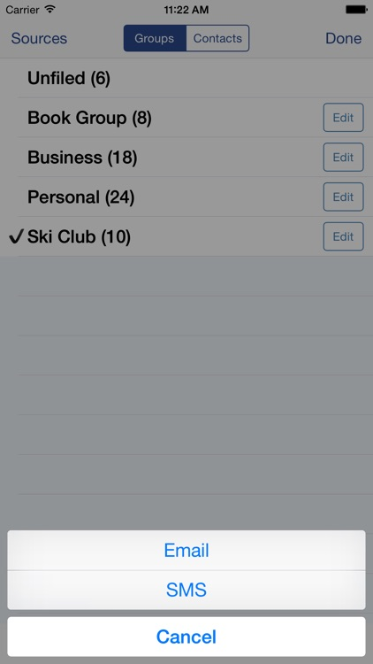 Speed Names - Contacts screenshot-3