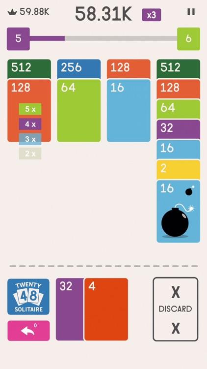 Twenty48 Solitaire screenshot-3