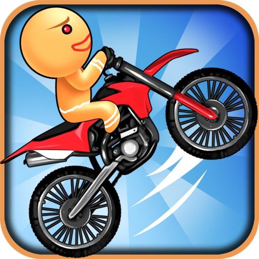 A Gingerbread Dirt Bike Run - Free HD Racing Game iOS App