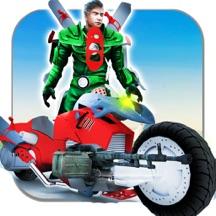 飞行 超级英雄 摩托 转型 - 亲