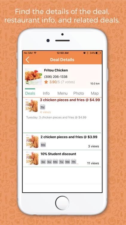 GrubDealz - Restaurant Deals screenshot-4