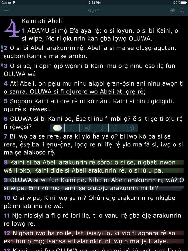 Yoruba Bible Holy Version on the App Store