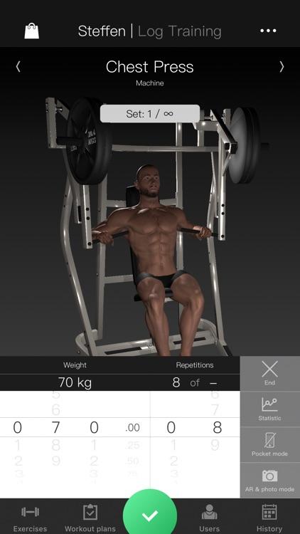 Gymnotize Workout Routines Gym screenshot-0