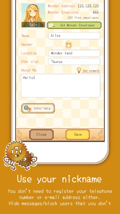 Alice Letters - Chat App screenshot-4