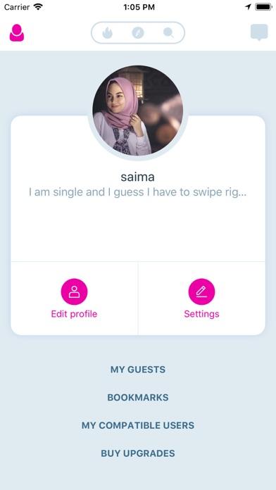 Muslim Dating Muz & Arab Match screenshot three