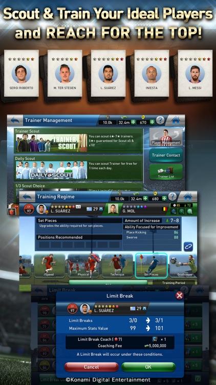 PES CLUB MANAGER screenshot-3