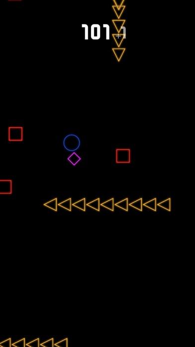 Neon Ball Arcade Screenshot 2
