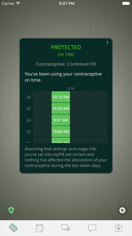 myPill® Birth Control Reminder