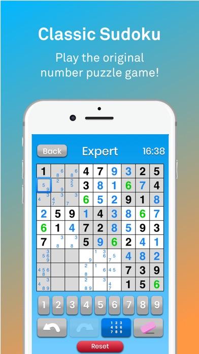 Sudoku 数独:古典的な脳のパズルのスクリーンショット