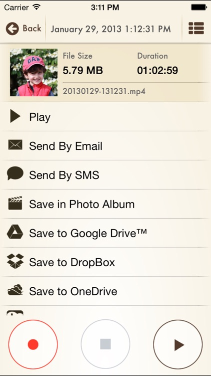 Voice Record Pro 7 Full screenshot-3