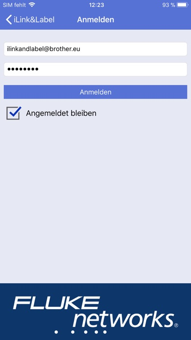 Screenshot for Brother iLink&Label in Germany App Store