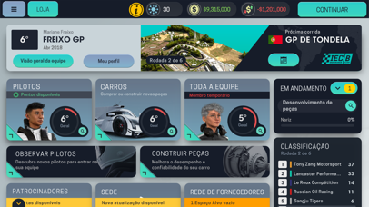 Screenshot for Motorsport Manager Mobile 3 in Portugal App Store
