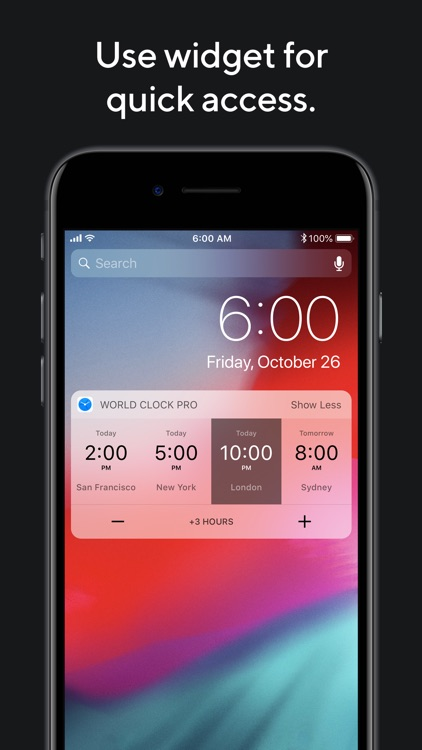World Clock Pro Mobile screenshot-3