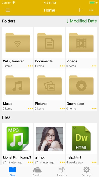 My Documents - File Manager screenshot 1