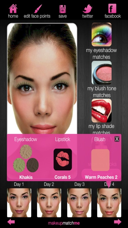MAKEUP MATCH ME screenshot-3