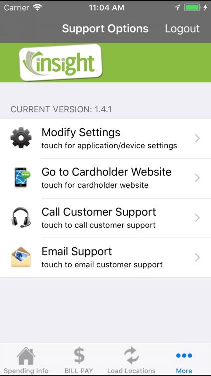 Insight Visa® Prepaid - Mobile screenshot-4