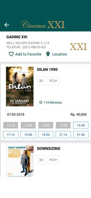 Cinema 21 on the App Store