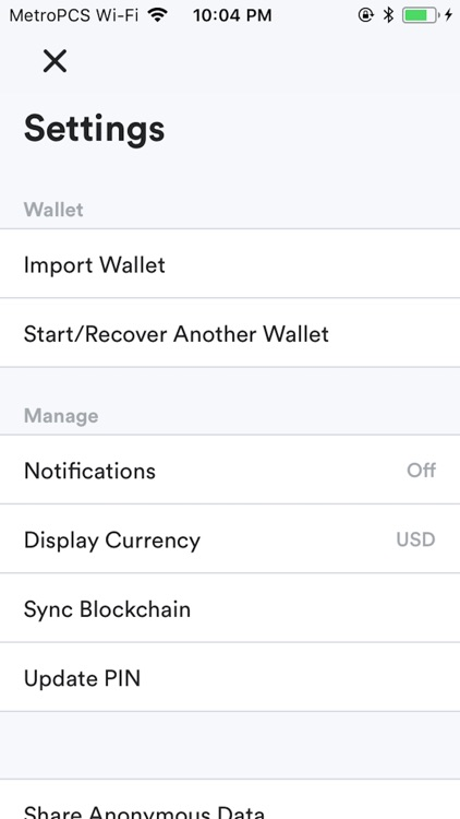 Wampum 1st Wallet screenshot-9