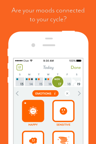 Clue - Health & Period Tracker screenshot 2