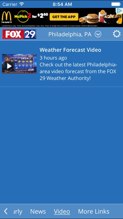 FOX 29 WEATHER AUTHORITY screenshot-1