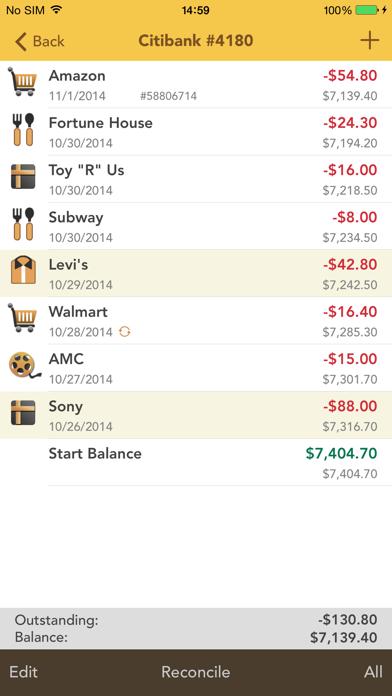 Checkbook Pro Screenshot