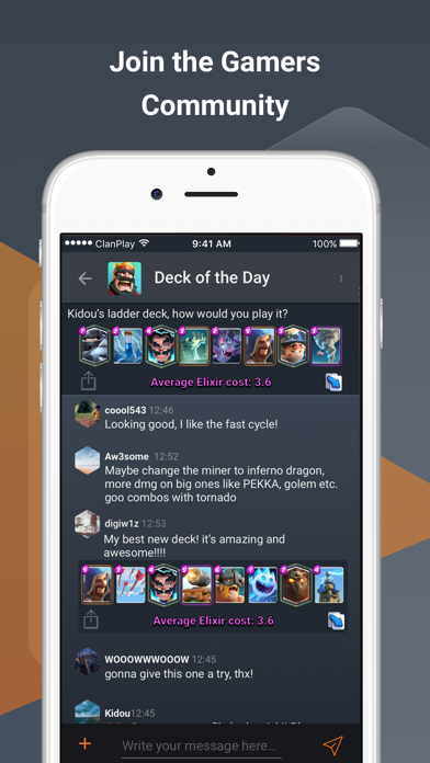 ClanPlay: Chat for Gamers screenshot one