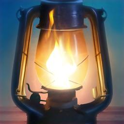 Night Light - Oil Lamp
