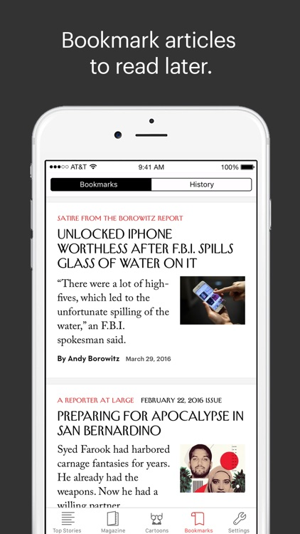 The New Yorker Today screenshot-4