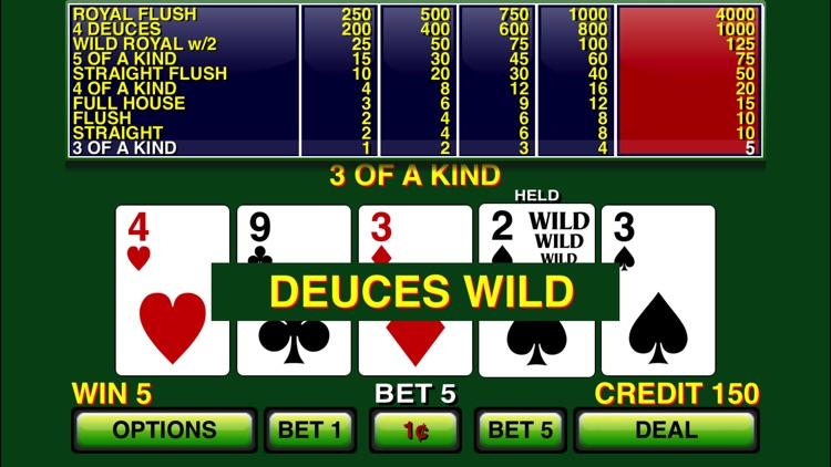 Video Poker ⋆ Deuces Wild screenshot-3